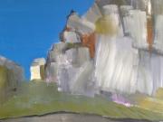 Felsen mit Haus Bretagne