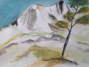 Mont Ste. Victoire, mit Baum